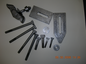 Unbrako T Bolts, Nuts, Washers and Strongbacks