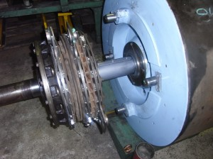 Bliss Welded Products Clutch Brake Flywheel Assembly